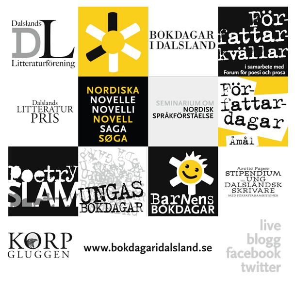 Bokdagar i Dalslands alla delar